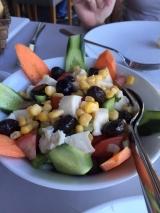 <h5>Salad under the bridge in Istanbul</h5>