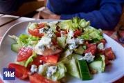 <h5>Gorgonzola walnut salad in Karlstejn</h5>