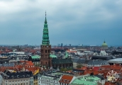 <h5>The view from The Tower at Christiansborg Palace</h5>