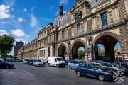 <h5>Entrance to Place du Carrousel, Paris, France</h5>