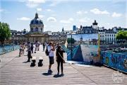 <h5>Institut de France from The Pont des Arts, Paris, France</h5>