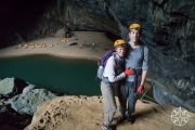 <h5>Josh and Krissy in Hang En Cave, Phong Nha-Kẻ Bàng National Park, Vietnam</h5>