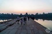 <h5>The bridge to Angkor Wat, Angkor, Siem Reap, Cambodia</h5>