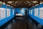 <h5>Catholic Church at Chong Khneas floating village, Tonle Sap Lake, Siem Reap, Cambodia</h5>