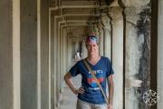 <h5>Krissy at Angkor Wat, Siem Reap, Cambodia</h5>