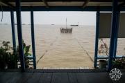 <h5>School house at Chong Khneas floating village, Tonle Sap Lake, Siem Reap, Cambodia</h5>
