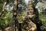 <h5>The east gate to Angkor Thom, Angkor, Siem Reap, Cambodia</h5>