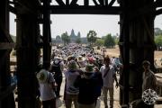 <h5>Angkor Wat on Khymer New Year, Angkor, Siem Reap, Cambodia</h5>
