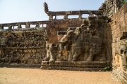<h5>Terrace of Elephants, Angkor Thom, Angkor, Siem Reap, Cambodia</h5>