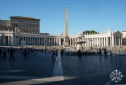<h5>St. Peter's Square, Vatican City, Italy</h5>
