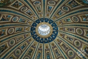 <h5>St. Peter's Basilica Dome, Vatican City, Italy</h5>