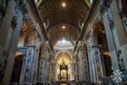 <h5>St. Peter's Basilica, Vatican City, Italy</h5>