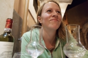 <h5>Happy Krissy at Il Duca in Trastevere, Rome, Italy</h5>