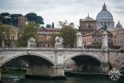 <h5>Ponte Vittorio Emanuele II, Rome, Italy</h5>