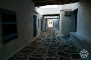 <h5>Streets of Kastro, Sifnos, Cyclades Islands, Greece</h5>