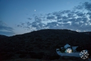 <h5>Sifnos at dusk, Cyclades Islands, Greece</h5>