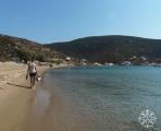 <h5>Krissy at  Vathy Beach, Sifnos, Cyclades Islands, Greece</h5>