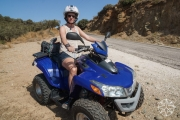 <h5>Krissy and ATV, Sifnos, Cyclades Islands, Greece</h5>