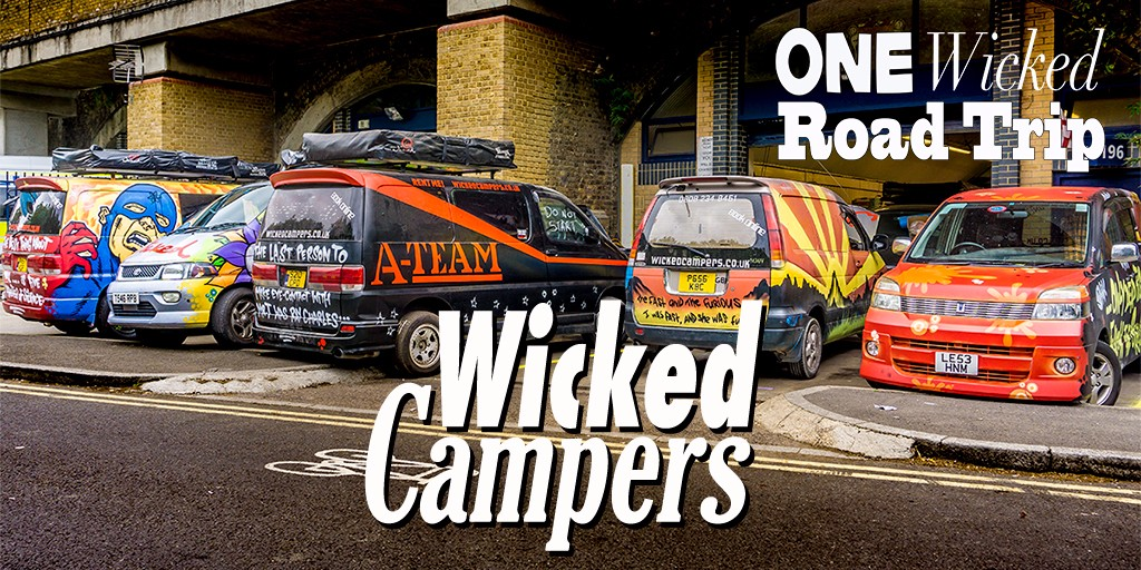 Wicked Campers London - One Wicked Road Trip Day 1