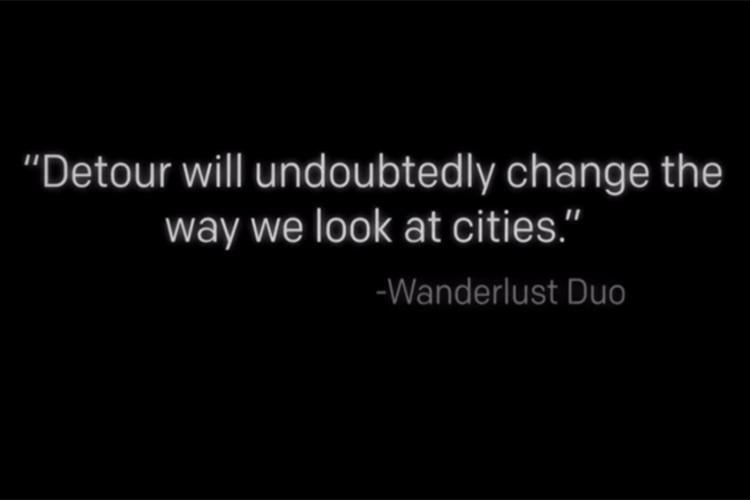 Detour-quote