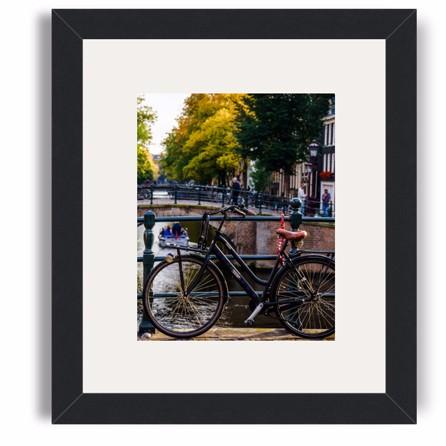 seoul framed print