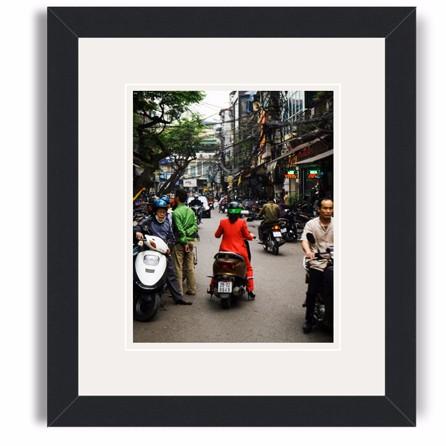 hanoi framed print