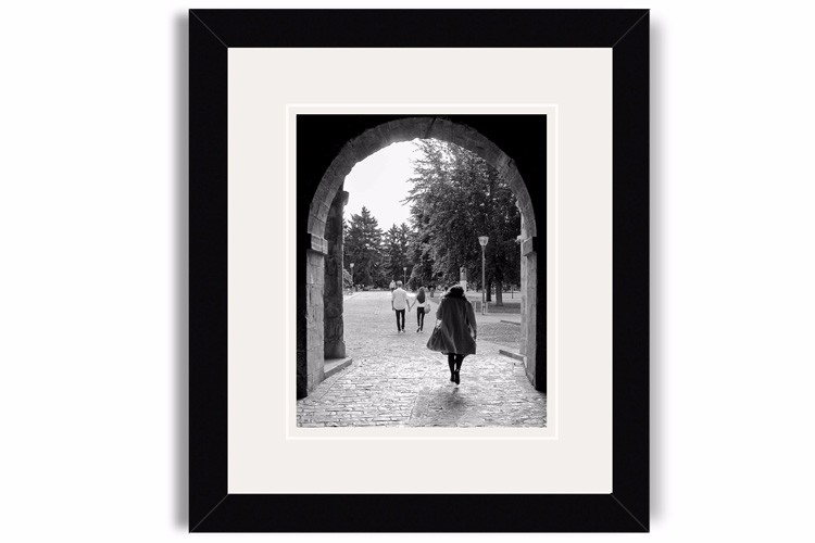 pamplona framed print