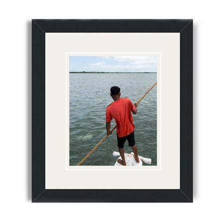 cebu framed print