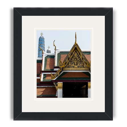 bangkok framed prints