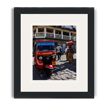 lake atitlan framed print