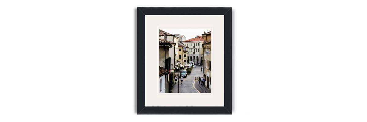 treviso framed print